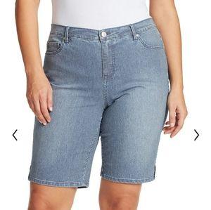 Gloria Vanderbilt Midrise Bermuda Shorts